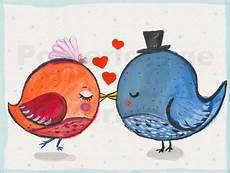 Kostenlose Malvorlagen Vogelhochzeit Miss Arty Paar Hochzeit V 246 Gel Poster