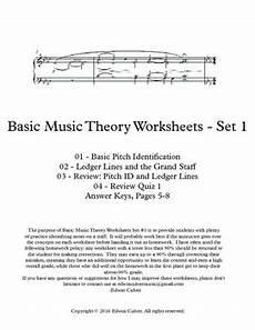 basic music theory worksheets 1 tpt