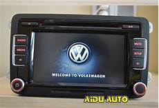 vw car radio rcd510 new original radio with code for vw
