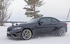bmw m2 cs for sale bmw m2 cs csl spotted testing in the snow