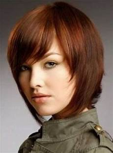 simple short straight hairstyles with bangs latest hair