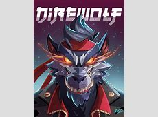 Wallpaper Fortnite, Dire Skin, Wolf, Artwork   WallpaperMaiden