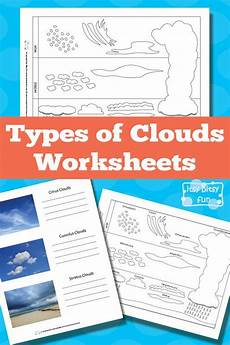 weather worksheets clouds 14508 types of clouds worksheets science lessons elementary science weather science