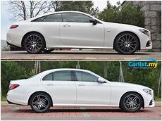 Mercedes E Class Differentiating Between Sedan And