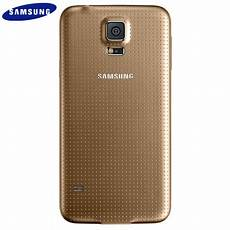 official samsung galaxy s5 back cover copper gold