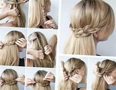 Einfache Frisuren Mit Haarband - schnelle und einfache frisuren halboffene idee aus