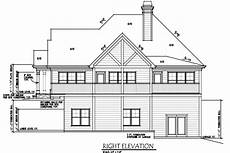 side view house plans lake wedowee creek retreat house plan
