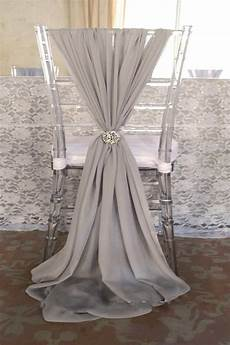 2018 popular fashion wedding chair sashes choose color
