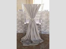 2020 Popular Fashion Wedding Chair Sashes Choose Color