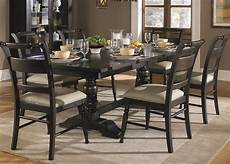 Black Dining Room Table by Black Cherry Finish Casual Dining Table Set