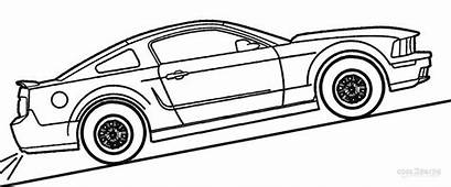 65 Mustang Coloring Pages