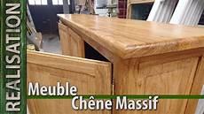 fabrication artisanale d un meuble en ch 234 ne massif