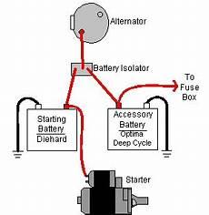 how does a battery isolator work it still runs