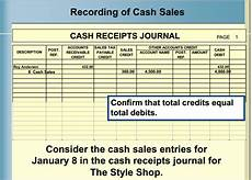 cash receipt journals cash receipts journal accountaholic