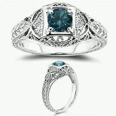 non traditional vintage engagement rings vintage style engagement rings white diamond ring
