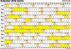 kalender 2018 berlin ferien feiertage pdf vorlagen
