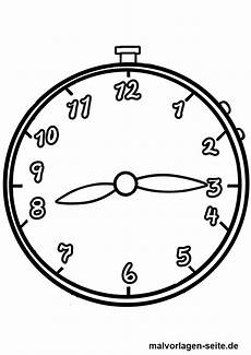 Uhr Malvorlagen Malvorlage Uhr Uhrzeiten Kostenlose Ausmalbilder