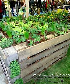 Pallet Gardens by Raised Garden Bed Made From Pallets The Site Doesn T Work