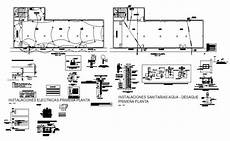 electrical installation details dwg circuit diagram images