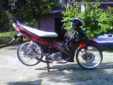 Modif Jupiter Z Standar by Modifikasi Jupiter Z1 Terbaru Racing Drag Velg Jari Jari