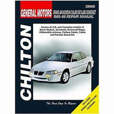 car manuals free online 1988 pontiac grand am user handbook 1985 1998 pontiac grand am chilton manual northern auto parts