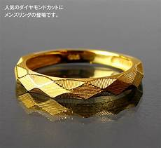gold wedding ring thailand prima gold japan diamond cut pure gold ring 24k pure gold gold yellow gold men ring ring memory
