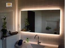 Spiegel Indirekte Beleuchtung - led badspiegel spiegel nach ma 223 mit beleuchtung