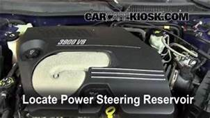 Power Steering Leak Fix 2006 2007 Chevrolet Monte Carlo