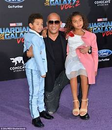 Vin Diesel Brings His Children To Guardians Of The Galaxy