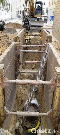 alte stromleitungen austauschen ab m 228 rz wieder viele baustellen onetz