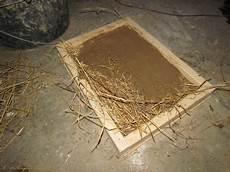 Eine Lehmputzplatte Herstellen