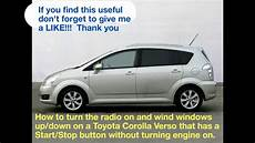 How To Start A Toyota Corolla Without A Key