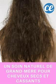 Un Soin Naturel De Grand M 232 Re Pour Cheveux Secs Et