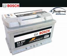 batteria auto bosch batteria auto bosch s5 s5007 74ah 750a opel ford focus mod basso altezza 17 cm ebay