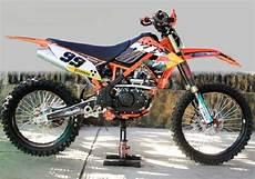 Klx Modif Ktm by Bedah Wujud Asli Kawasaki Klx150l Jadi Ktm Exc 250