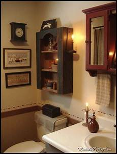 primitive country bathroom ideas the wall grouping 048 colonial gatherings
