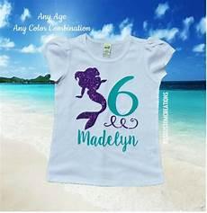 T Shirt Malvorlagen Kostenlos Meerjungfrau Meerjungfrau Geburtstag Shirt M 228 Dchen Meerjungfrau
