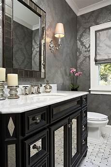 powder bathroom design ideas 20 gorgeous black vanity ideas for a stylishly unique bathroom