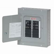 eaton 100 10 space 20 circuit type br main breaker renovation panel load center value