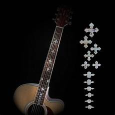 acoustic guitar decals guitar fretboard inlay stickers acoustic electric fret neck decals markers new ebay