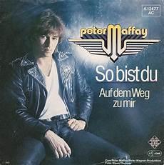 Vinyl Shop Maffay So Bist Du Vinyl Singles