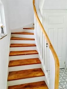 handläufe für treppen treppe schleifen zementfliesen diy zementfliesen