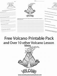 learning about volcanoes free printables and resources homeschool giveaways