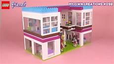malvorlagen lego friends house mansion 003 lego friends my own creations 098