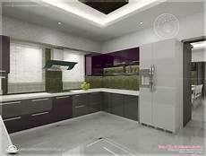 Kitchen Interior Design Photos Kitchen Interior Views By Ss Architects Cochin Home
