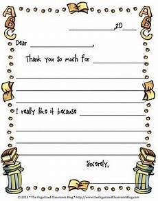 thank you card template for students from free student thank you note by charity tpt