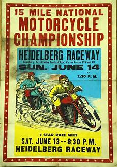 motoblogn vintage motorcycle race posters