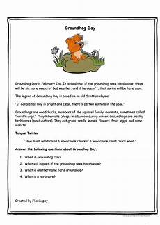 groundhog day worksheet free esl printable worksheets made by teachers