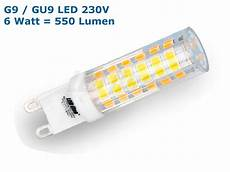 leuchtmittel g9 led sehr helle g9 gu9 led leuchtmittel 6 watt 550 lumen