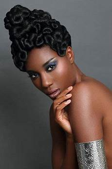 Afro Prom Hairstyles